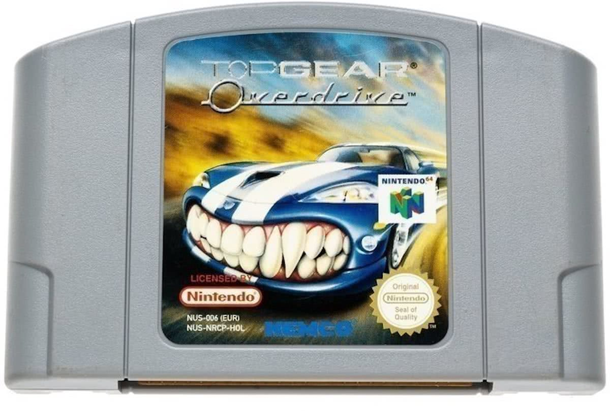 Top Gear Overdrive - Nintendo 64 [N64] Game PAL